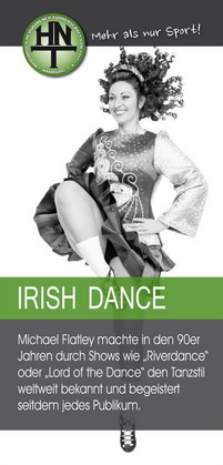 Irish Dance bei der HNT