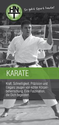 Karate bei der HNT