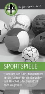 Sportspiele bei der HNT