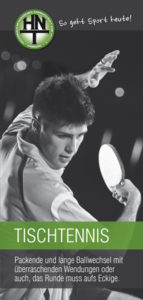 Tischtennis bei der HNT
