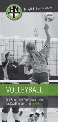 Volleyball bei der HNT