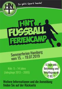 HNT Fußball Feriencamp 2019