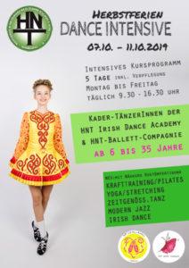 Feriencamp Dance Intensive Herbst 2019