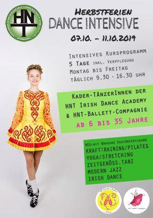 Feriencamp Dance Intensive Herbst 2019