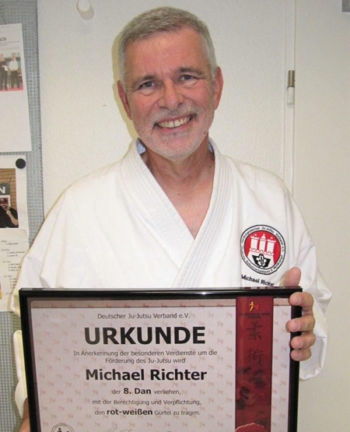 Micheal Richter - 8. DAN