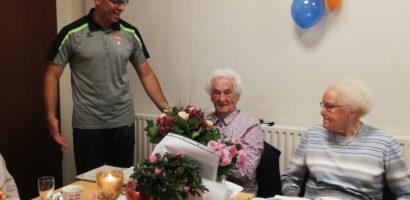 100. Geburtstag Erna Clausen