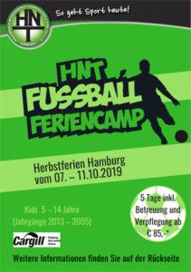 Feriencamp Fußball Herbst 2019