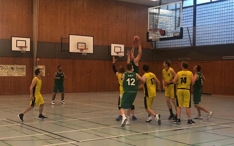 HNT Baskettball Auswärtssieg