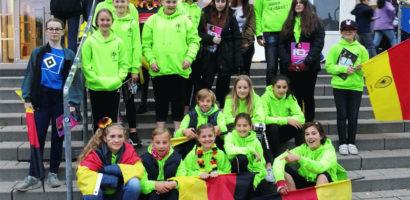 Fußball Mädchen bei Jogis Jungs