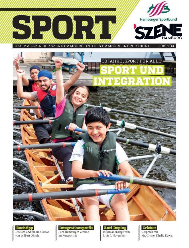 Szene Hamburg Sport Cover 11-2019