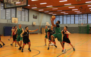 HNT gegen Harburg Baskets