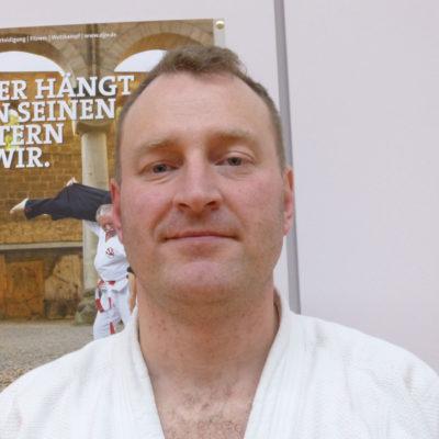 Ju-Jutsu Trainer Alexander Jost