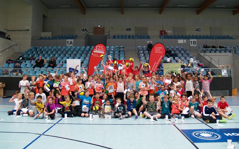 Volleyball: Sparkassen Grundschulcup 2019