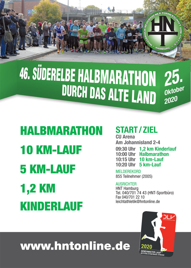 46. Süderelbe-Halbmarathon 2020